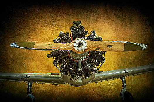 Randall Nyhof - Front End of a Fairchild PT-23 Cornell Monoplane Trainer