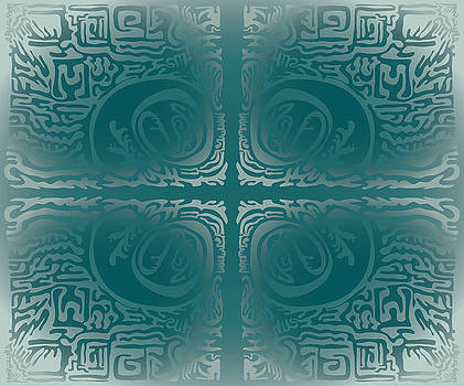 Frost Squiggle Tile by Kevin McLaughlin