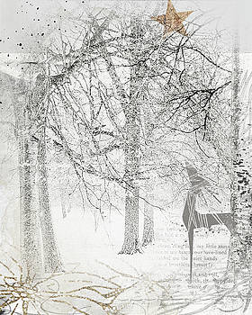 Frosted winter by Beverly Cazzell