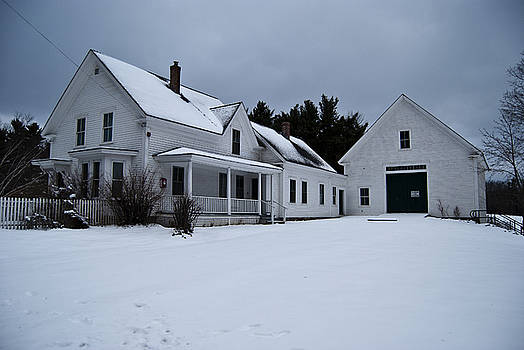 Frosty Farm of Robert Frost by Peggie Strachan