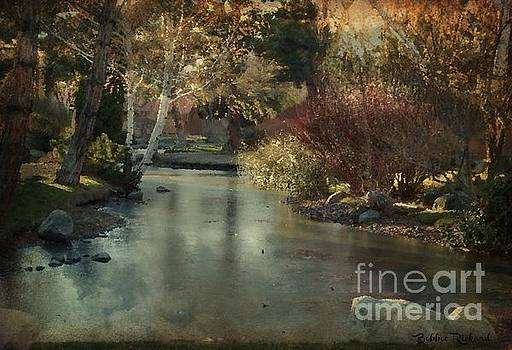 Frozen Creek Digital Oil Paint by Bobbee Rickard