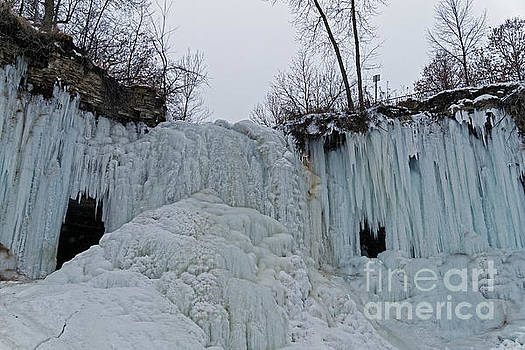 Frozen Minnehaha Falls by Natural Focal Point Photography