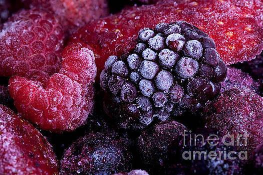 Frozen summer fruits macro by Simon Bratt Photography LRPS