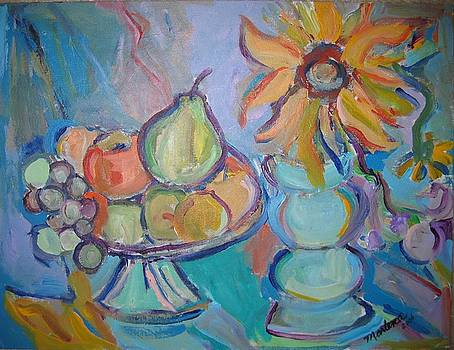 Fruit and Flowers 2 by Marlene Robbins