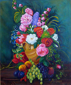 Fruit and Flowers by Janet Silkoff