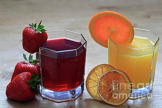 Fruit and Juice by Tracy Hall