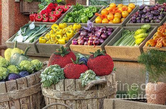 Fruit and Veggie Display by Matthew Hesser