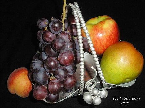 Fruit Basket II by Freda Sbordoni