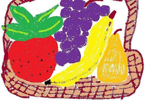 Fruit Basket by Rosemary Mazzulla