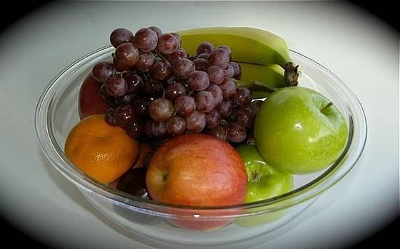 Fruit bowl by Hugh Peralta