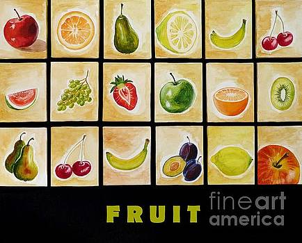 Fruit by Christine Huwer