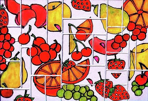 Fruit Fractals by Farah Faizal