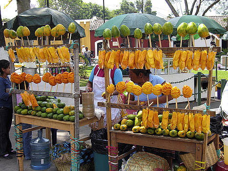Kurt Van Wagner - Fruit Stand Antigua  Guatemala
