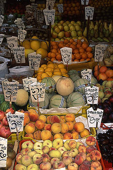 Fruit Stand by Mary McGrath