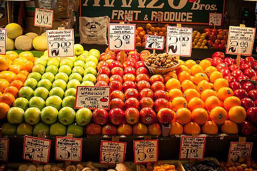 Fruit Stand by Paul Bartoszek