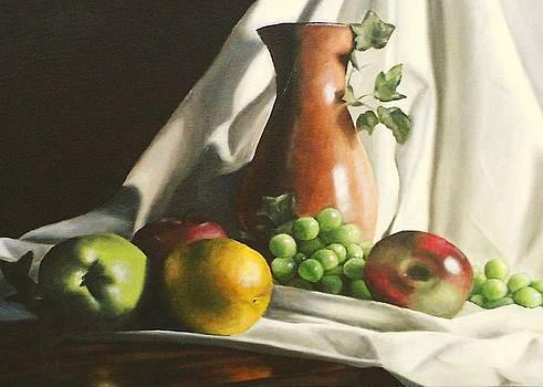 Fruit Still Life by Lori Keilwitz