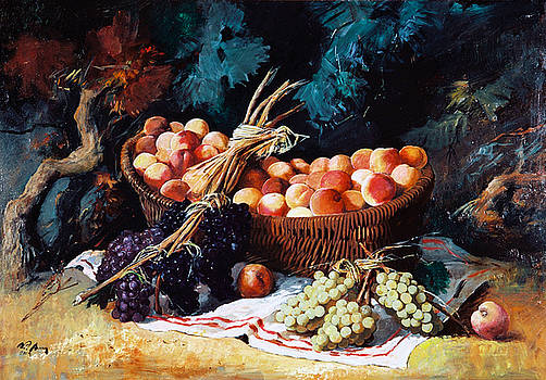 Fruits by Alim Adilov