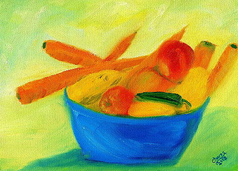Fruits and Veggies by Sylvia Riggs