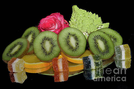 Fruits,vegetables And Candies by Elvira Ladocki