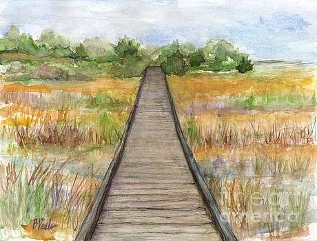 Ft. Fisher Walk by Bev Veals