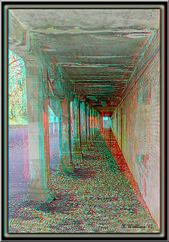 Ft. Howard Pk- Tunnel Effect - Use Red-Cyan 3D Glasses by Brian Wallace