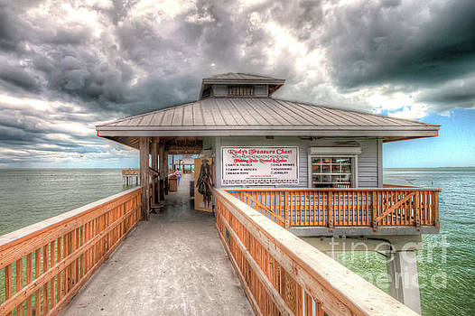 Ft Myers Beach Pier by David Lane