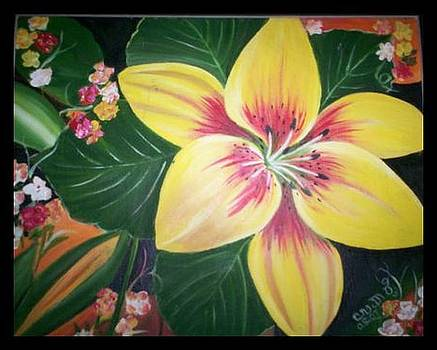 Full bloom 1 by Usha Rai