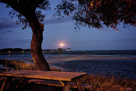 Full Moon at inlet Watch by Phil Mancuso