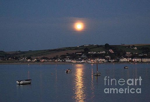 Full Moon over Instow  by Pete Moyes