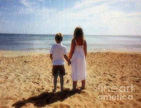 Fun day at the beach  by Diana Chason