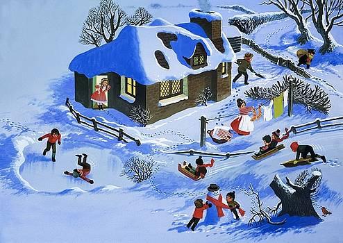 English School - Fun in the snow
