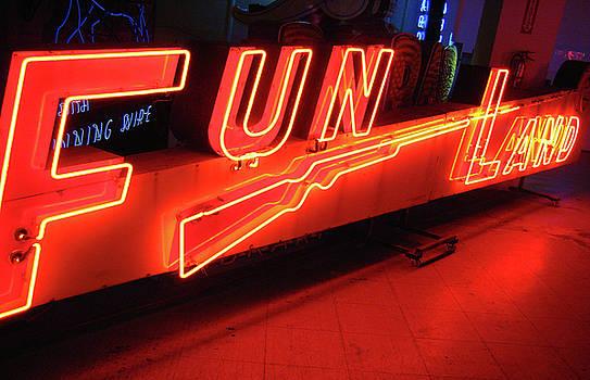 Fun Land Photograph by Uli Gonzalez