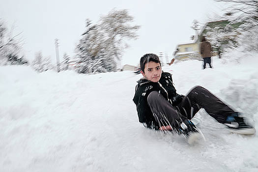 Fun on snow-1 by Okan YILMAZ