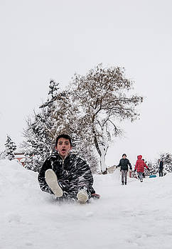 Fun on snow-2 by Okan YILMAZ