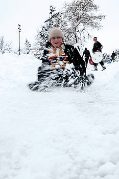 Fun on snow-5 by Okan YILMAZ