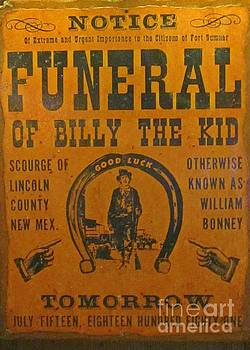 John Malone - Funeral of Billy the Kid
