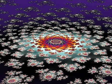 Galactic Flower by Scott  Bricker