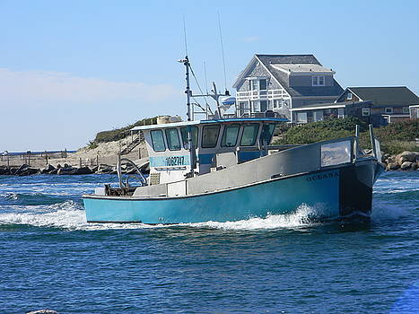 galilee Fishing boat by Diane Valliere