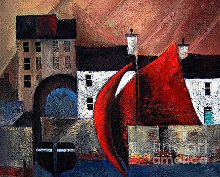 GALWAY ... Spanish Arch by Val Byrne