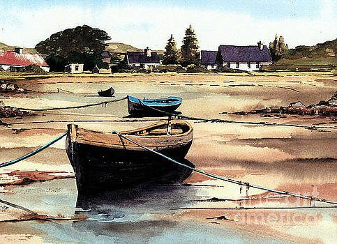 GALWAY.. ERLAK tide out by Val Byrne