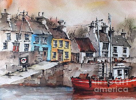 GALWAY.. Roundstone by Val Byrne