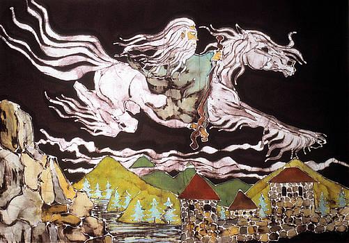 Gandalf and Shadowfax by Carol Law Conklin