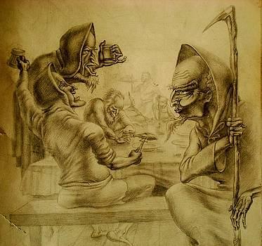 Gandalf by Denis Hmylnin