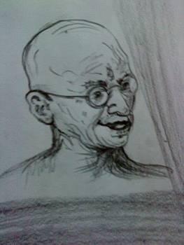 Gandhi Ji by Sonam Shine