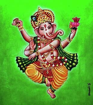 Ganesha by Bharati Subramanian