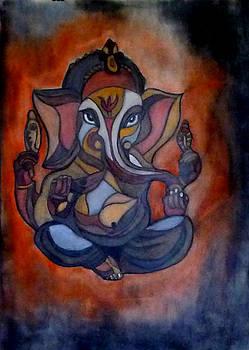 Ganesha by Sarojit Mazumdar