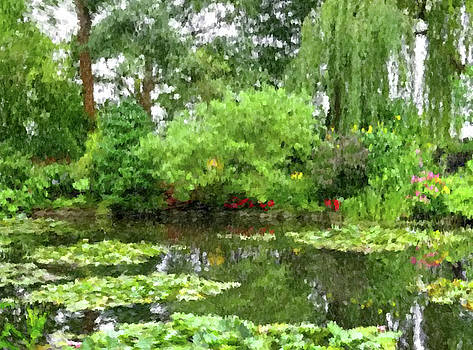 Garden at Giverney by Gary Grayson