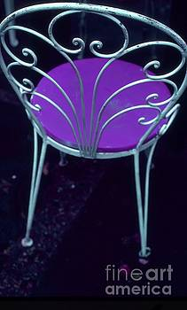 Garden Chair Series-Violet by Tamarra Tamarra