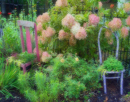 Garden Chairs by Larry Bishop