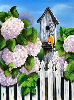 Garden Cottage by Sherry Cullison
